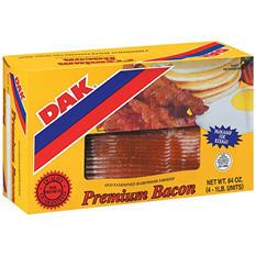 Plumrose Premium Bacon (1 lb. pkg., 4 ct.)