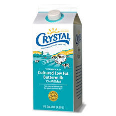 Crystal Buttermilk  (1/2 gal.)