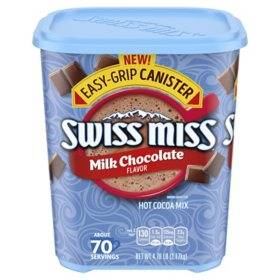 Swiss Miss Milk Chocolate Hot Cocoa Mix Canister (76.5 oz.)