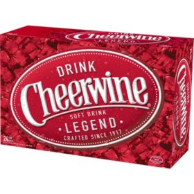 Cheerwine Cherry Soft Drink (12oz / 24pk)