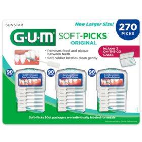 GUM Soft-Picks, Original (270 ct.)