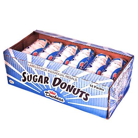 Duchess Sugar Donuts (3 oz., 12 pk.)