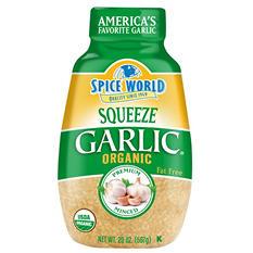 Spice World Organic Squeeze Garlic (20 oz.)
