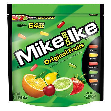 Mike and Ike Original Fruits (54 oz.)