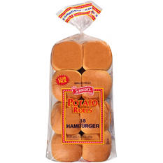 Schmidt's Potato Rolls Hamburger Buns - 30 oz. - 16 ct.