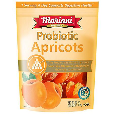 Mariani Premium Dried Fruit Probiotic Apricots (40 oz.)