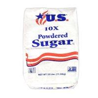 U.S. Powdered Sugar (25 lbs.)