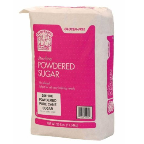 Bakers & Chefs Powdered Sugar - 25 lbs.