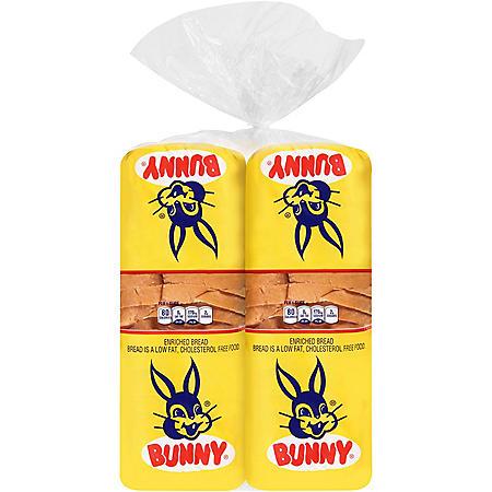 Bunny Round Top Bread (24oz / 2pk)