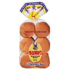 Bunny Hamburger Buns (20 oz., 12 ct.)