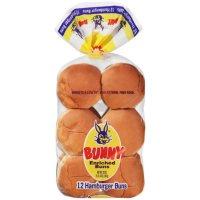Bunny Hamburger Buns (20oz)