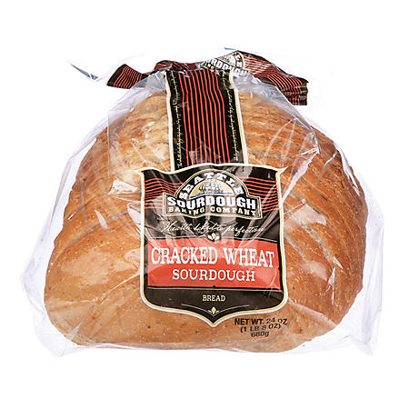 Seattle Sourdough Cracked Wheat Round Loaf (24 oz.)