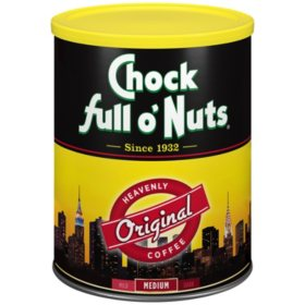 Chock full o'Nuts Original Blend Heavenly Ground Coffee (48 oz.)