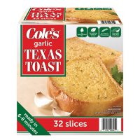 Cole's Garlic Texas Toast, Frozen (32 ct.)