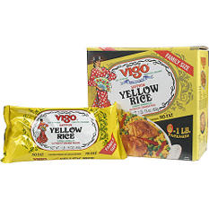Vigo Saffron Yellow Rice - 6/1 lb. bags