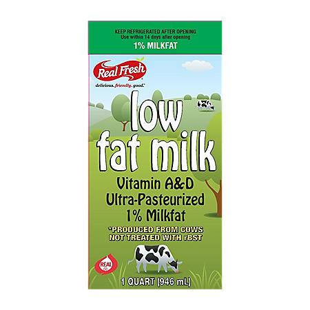 Real Fresh 1% Low Fat Milk (32 oz.)