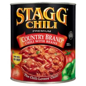 Stagg Country Brand Chili with Beans (108 oz.)