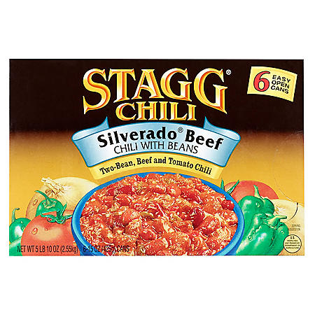 Stagg Silverado Beef Chili with Beans (15 oz., 6 pk.)