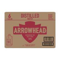 Arrowhead Distilled Water (1gal / 6pk)