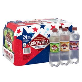 Arrowhead Sparkling Spring Water Variety Pack (16.9oz / 24pk)