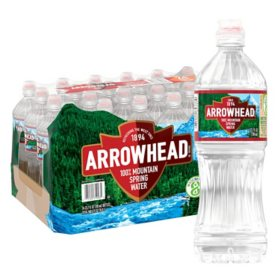 Arrowhead 100% Mountain Spring Water (23.7oz / 24pk)