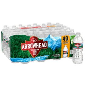 Arrowhead 100% Mountain Spring Water (16.9oz / 40pk)