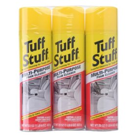 Tuff Stuff Multi-Purpose Foam Cleaner (3 pk., 22 oz. ea.)