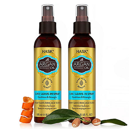 --bundle--HASK Argan Oil 5-in-1 Leave-In (6 oz.,