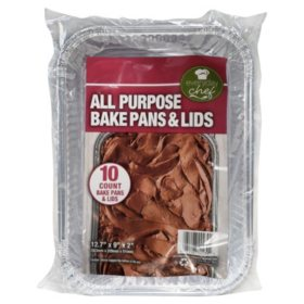 Everyday Chef All Purpose Bake Pans & Lids, 10ct.