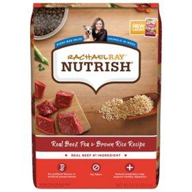 Rachael Ray Nutrish Real Beef, Pea & Brown Rice Recipe Dry Dog Food (50 lbs.)