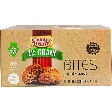 Country Hearth 12 Grain Bites (2 oz, 12 pk.)