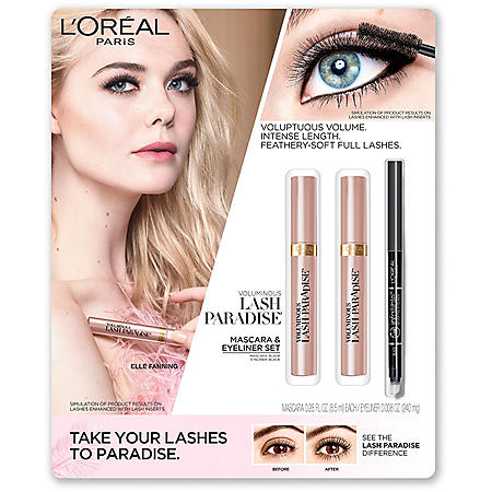 L'Oreal Paris Voluminous Lash Paradise Mascara & Eyeliner Set