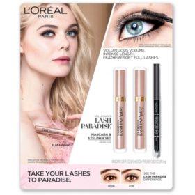 L'Oreal Paris Voluminous Lash Paradise Mascara & Eyeliner Set