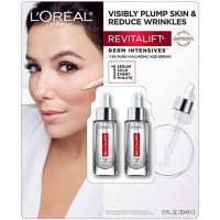 L'Oreal Paris Revitalift® Derm Intensives Hyaluronic Acid Face Serum, 2-pk