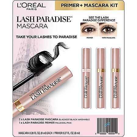 L'Oreal Paris Lash Paradise Mascara and Primer Kit