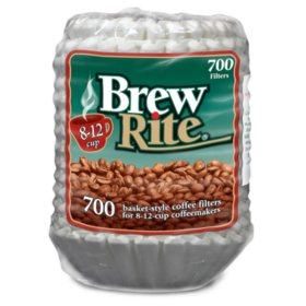 Brew Rite Coffee Filter (8-12 Cups, 700ct.)