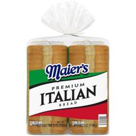 Maier's Premium Italian Bread (20oz / 2pk)