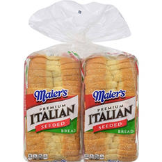 Maier's Italian Style Seeded Loaf (20 oz., 2 pk.)