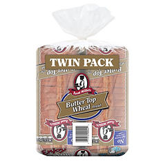 Aunt Millie's Butter Top Wheat Bread (22 oz., 2 ct.)