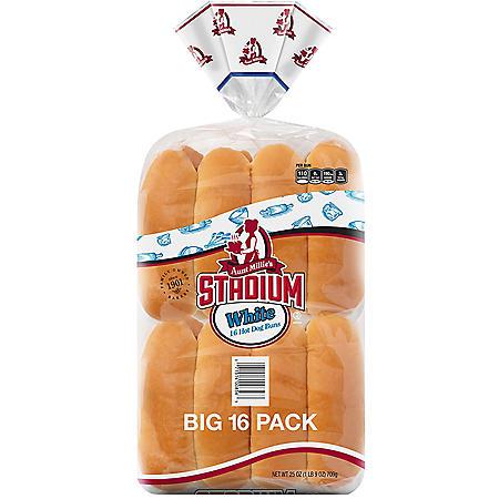 Aunt Millie's Hot Dog Buns (16 pk)
