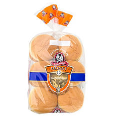 Aunt Millie's Honey Hamburger Buns (12 ct.)