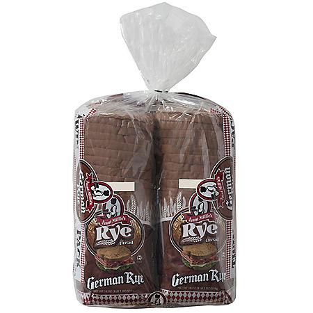 Aunt Millie's German Rye Bread (36 oz., 2 pk.)