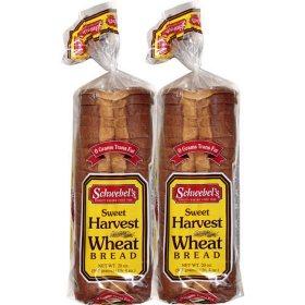 Schwebel's Sweet Harvest Wheat Bread (20oz / 2pk)