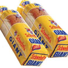 Schwebel's Giant White Bread - 22 oz. - 2 pk.