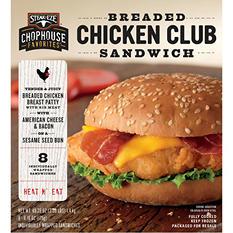 Steak EZE Chicken Club Sandwich (49.23 oz.)
