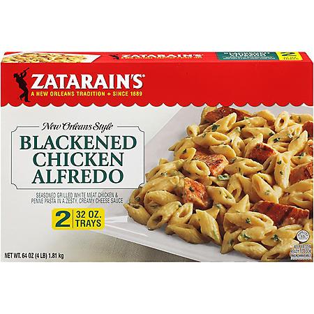Zatarain's Blackened Chicken Alfredo, Frozen (32 oz., 2 pk.)