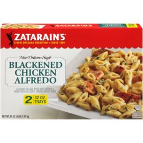 Zatarain's Blackened Chicken Alfredo, Frozen (32 oz., 2 pk.)