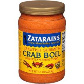Zatarain's Crawfish, Shrimp & Crab Boil (4.5 lb.)