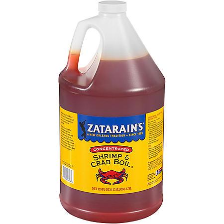 Zatarain's Concentrated Liquid Shrimp & Crab Boil (1 gal.)