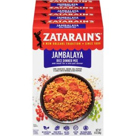Zatarain's Jambalaya Rice Dinner Mix (8 oz., 4 pk.)